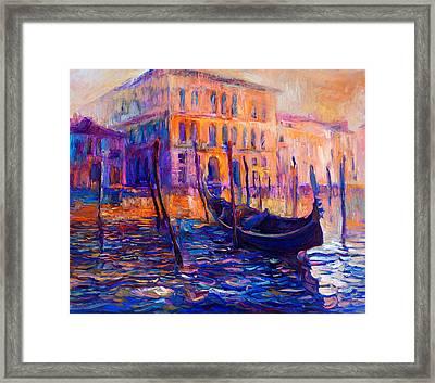 Venice, Italy By Ivailo Nikolov Framed Print by Boyan Dimitrov