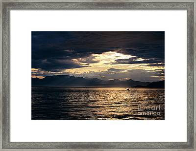 View Of Alaska Framed Print by John Hyde - Printscapes
