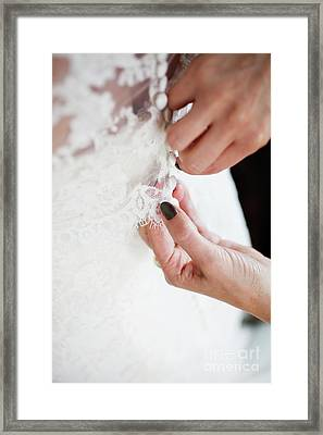 Wedding Day Framed Print by Kati Molin