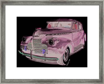41 Chevy Framed Print by Ferrel Cordle