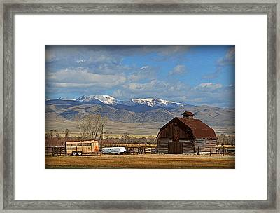 41 To Twin Framed Print by Leah Grunzke