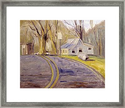 45mph Framed Print by Charlie Spear
