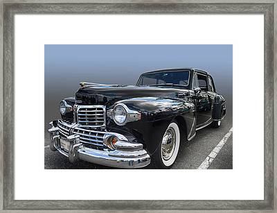 47 Continental Framed Print by Bill Dutting