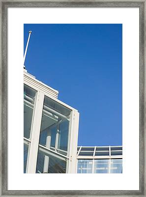 Modern Building  Framed Print by Tom Gowanlock