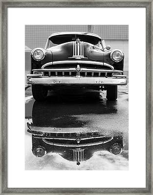 49 Pontiac After A Rain Framed Print by Jim Hughes