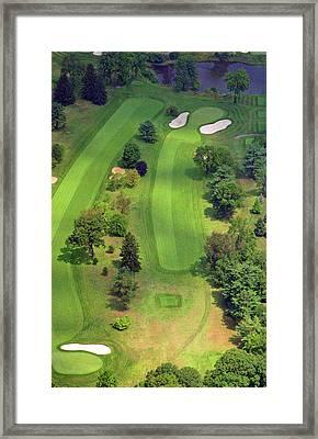 4th Hole Sunnybrook Golf Club 398 Stenton Avenue Plymouth Meeting Pa 19462 1243 Framed Print by Duncan Pearson
