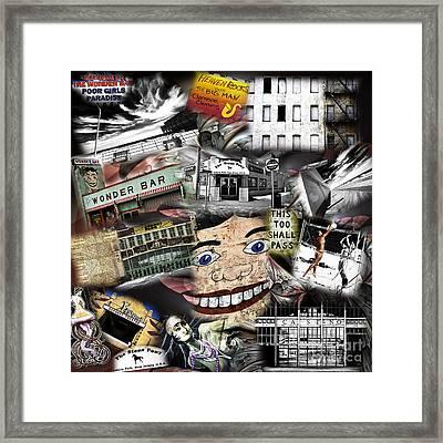 4th Of July Asbury Park Framed Print by John Rizzuto