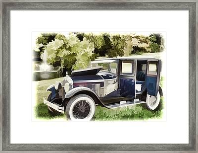 1924 Buick Duchess Antique Vintage Photograph Fine Art Prints 106 Framed Print by M K  Miller