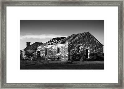 Abandoned Places Framed Print by Jon Manjeot