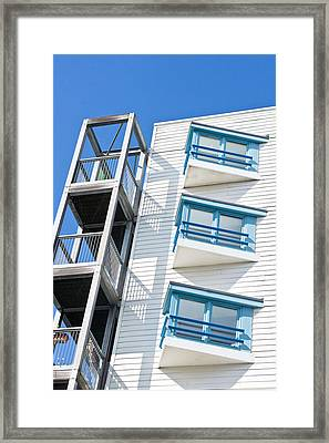 Apartments Framed Print by Tom Gowanlock