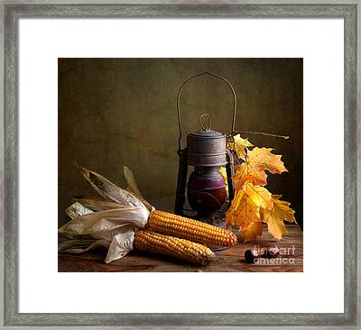 Autumn Framed Print by Nailia Schwarz