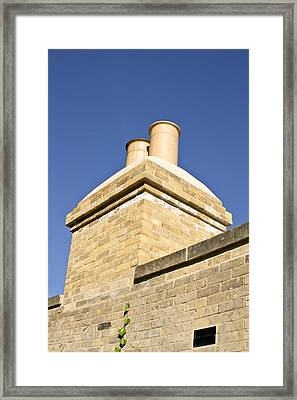 Chimney Framed Print by Tom Gowanlock