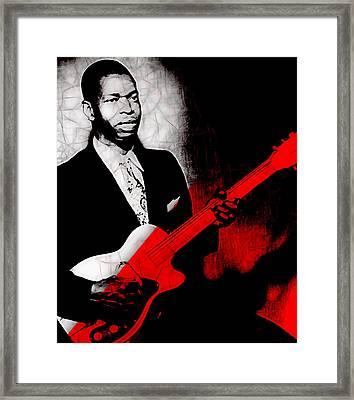 Elmore James Collection Framed Print by Marvin Blaine
