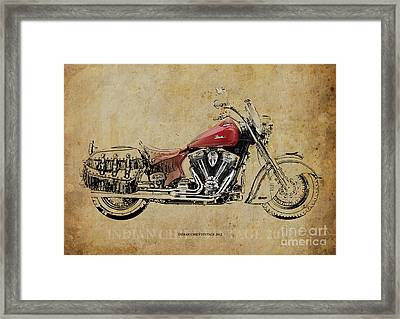 Indian Chief Vintage 2012 Framed Print by Pablo Franchi