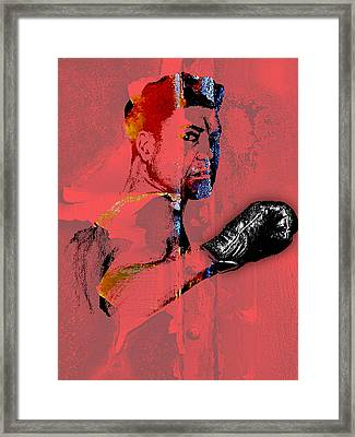 Jack Dempsey Collection Framed Print by Marvin Blaine
