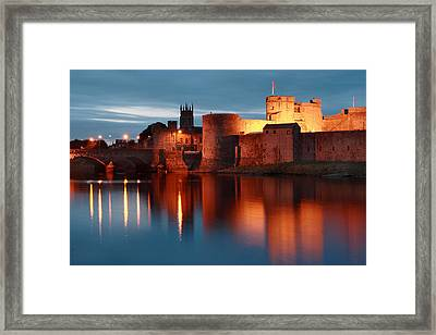 King John's Castle Limerick Ireland Framed Print by Pierre Leclerc Photography