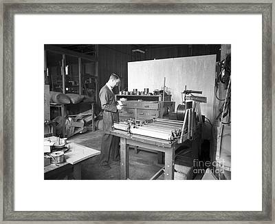 Luis Alvarez, American Physicist Framed Print by Science Source