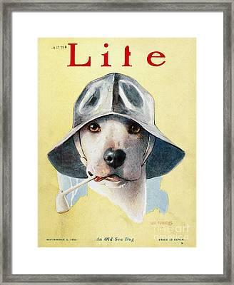 Magazine: Life, 1925 Framed Print by Granger