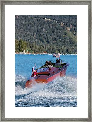 Mahogany Magic Framed Print by Steven Lapkin