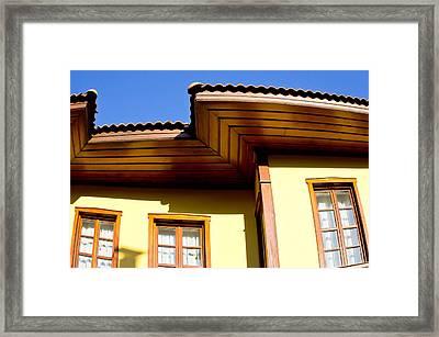 Ottoman House Framed Print by Tom Gowanlock