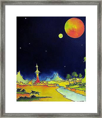 Planet X Framed Print by James Smith