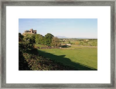 Rock Of Cashel Framed Print by John Quinn