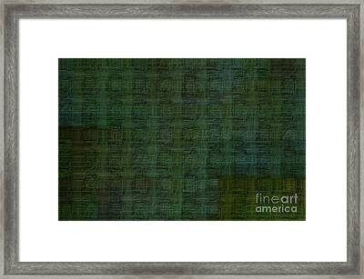 Technology Abstract Background Framed Print by Michal Boubin