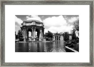 The Beautiful Palace Of Fine Arts - San Francisco Framed Print by Mountain Dreams