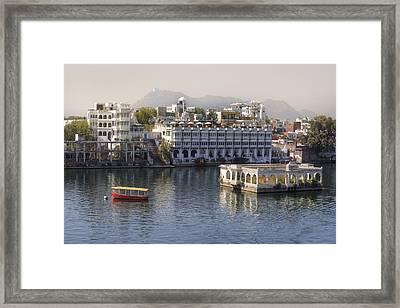 Udaipur - India Framed Print by Joana Kruse