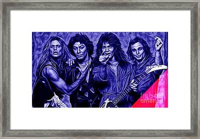 Van Halen Collection Framed Print by Marvin Blaine