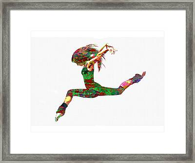 Dance Framed Print by Elena Kosvincheva