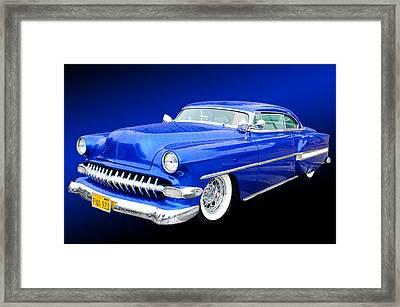 53 Chevrolet Framed Print by Jim  Hatch
