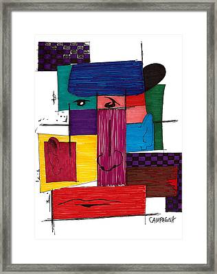 Untitled Framed Print by Teddy Campagna