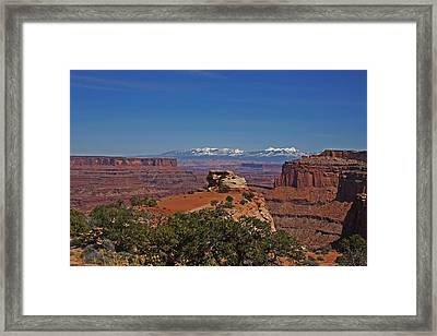 Canyonlands National Park Framed Print by Mark Smith