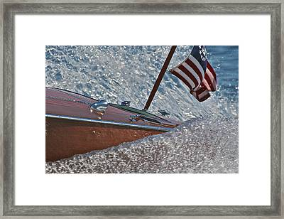 Patriotic Classic Framed Print by Steven Lapkin