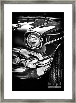 57 Chevy Framed Print by Tim Gainey