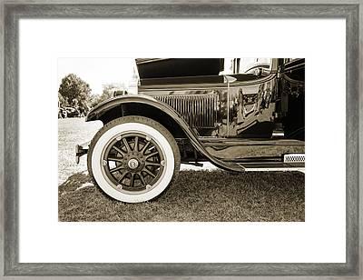 1924 Buick Duchess Antique Vintage Photograph Fine Art Prints 116 Framed Print by M K  Miller