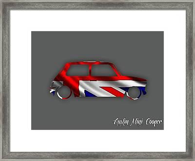 Austin Mini Cooper Framed Print by Marvin Blaine