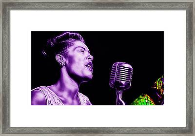 Billie Holiday Collection Framed Print by Marvin Blaine