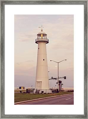 Biloxi Lighthouse Framed Print by Scott Pellegrin