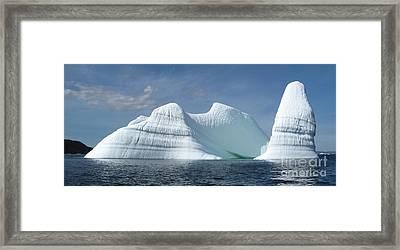 Iceberg Framed Print by Seon-Jeong Kim