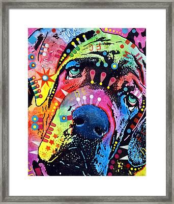 Neo Mastiff Framed Print by Dean Russo