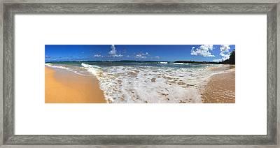 Poipu Beach Kauai Framed Print by Steven Lapkin