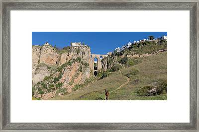 Ronda, Spain Framed Print by Ken Welsh