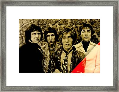 The Who Collection Framed Print by Marvin Blaine