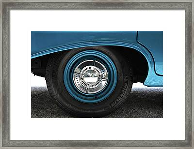 61 Impala Wheel Framed Print by David Lee Thompson
