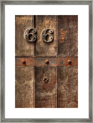 66... Framed Print by Evelina Kremsdorf
