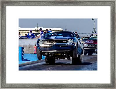 68 Camaro Framed Print by Bill Gallagher