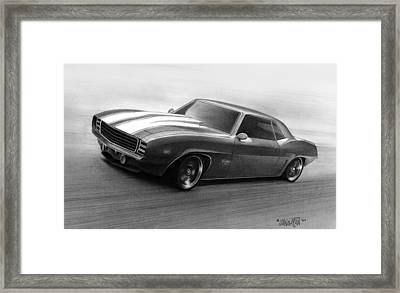 '69 Camaro Framed Print by Tim Dangaran