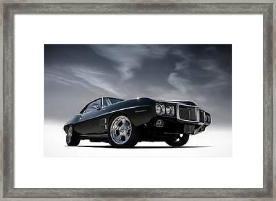 69 Pontiac Firebird Framed Print by Douglas Pittman